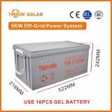 sistema de energia solar da fora-Grade 5000W para a energia solar Home