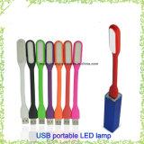 승진 고품질 휴대용 USB 재충전용 LED 책 빛