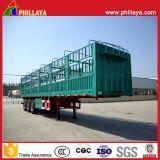 De frontière de sécurité latérale de cage remorque en acier semi pour le transport de cargaison en bloc