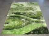 Alfombra de área Shaggy Alfombra Populationg Textile