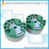 プログラム可能なヘッドによって取付けられる4-20mA PT100の温度の送信機