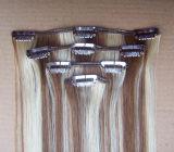 Remy Hair Clips Hair Extension Brazilian Virgin Hair