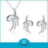 De beste het Verkopen Juwelen van de Manier plaatsen 925 Echt Zilver (sh-J0124)