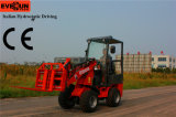 CER Approved Mini Vorderseite Loader Er06 mit Pallet Forks