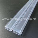 Charnière en plastique claire de pli pour le conseil acrylique