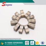 Segment de diamant de la lame de coupe de blocs