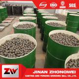 L'alto uso di estrazione mineraria di durezza ha forgiato la sfera stridente d'acciaio di media