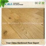 Suelo de madera dirigido roble ancho del tablón