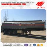 De la dimension hors-tout 11000mm*2500mm*3800mm d'essence de camion-citerne remorque semi à vendre