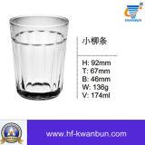 고품질 마시는 컵 유리제 공이치기용수철 유리 그릇 킬로 비트 Hn0362
