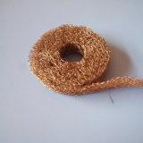 0.23 mm 간격 장치와 감쇠 반지로 철사에 의하여 압축되는 뜨개질을 한 철망사
