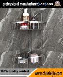 中国からの浴室のアクセサリの浴室の二重層のコーナーのバスケット