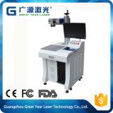 Máquina de gravura de alta velocidade do laser para o metal