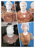 Marmorfehlschlag-Skulptur