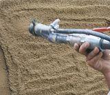 Bomba que pinta (con vaporizador) concreta del mortero semiautomático caliente que enyesa la máquina