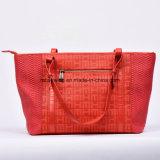 Grande sacchetto di spalla del sacchetto di Tote della signora sacchetto di cuoio di capienza 2017