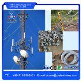 Torre Telecom de aço do mastro novo atrativo de Guyed do estilo da forma