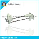 Slatwall를 위한 안전 Display Pegboard Hooks Display Unit Short Hooks