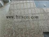 Opgepoetst, vlamde Tegels de Roze van het Graniet (G687), Plakken, G687, Graniet