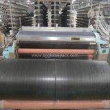 Tissu plat tissé par pp bleu de couleur pour l'empaquetage industriel