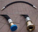 Embout de durites hydraulique d'acier du carbone de portée de face de joint circulaire de la Chine