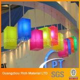 Folha acrílica da cor para a iluminação/folha acrílica plástica do plexiglás PMMA para anunciar