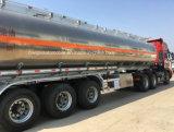 頑丈な給油車トラック50000リットルのアルミ合金タンク
