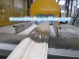 중국 2016 가장 새로운 PVC 모조 대리석 돌 장 장식적인 생산 라인