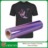Qingyi 공장 t-셔츠를 위한 최고 가격 홀로그램 열전달 필름