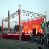 290X290mm esterni Square Aluminum Screw Global Event DJ Aluminum Spigot Global Truss