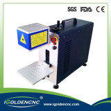 Precio portable máximo de la máquina de la marca del laser de la fibra con el ordenador
