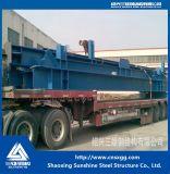Estructura de acero de acero del ángulo industrial para procesar