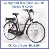 26inch 운동 단위로 건축되는 Bafang 관제사를 가진 전기 도시 자전거