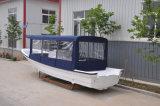 Barco de la fibra de vidrio de la pesca de la T-Tapa del aluminio de Liya los 7.6m con el Ce (SW760)