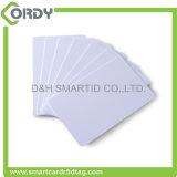 Da microplaqueta branca em branco sem contato do PVC da proximidade cartão esperto da identificação RFID