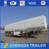 3개의 차축 판매를 위한 가격 45000 리터 반 휘발유 기름 연료 유조선 저장 탱크 트레일러