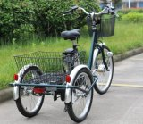Prix bas Chine Electric Pedal Assisted Cargo Tricycle pour Adults