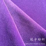 Tessuto cationico del velluto del breve mucchio con tutti gli intervalli di colore
