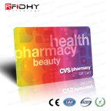 Carte normale de PVC de la coutume NFC - Ntag213