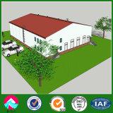 Edificio estructural porta del marco de acero para la fábrica de la fabricación de papel