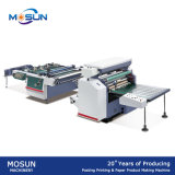Alimentação de papel de estratificação Semi auto de máquina de Msfy-1050m à mão