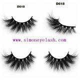 pelo Eyeashes falso cosmético del visión 3D para el maquillaje de la belleza