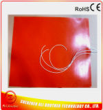 Calefator elétrico flexível da almofada da borracha de silicone