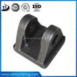 Peças de cilindro hidráulico com forquilha de aço a quente com torno CNC