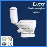 7# se separan/el tocador de cerámica del cuarto de baño de dos piezas de Washdwon en mercancías sanitarias