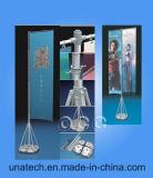 Pubblicità del Teardrop telescopico di alluminio della base dell'acqua della bandierina