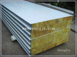 Белое Sheet Rockwool Sandwich Panle для House