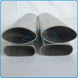 El plano de acero inoxidable de AISI 316L echó a un lado tubo oval