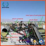 Línea de productos de estiércol fertilizante orgánico