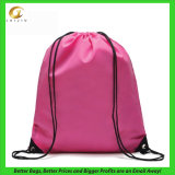 Polyester Drawstring Sports Backpack Gym Bag, avec Custom Design